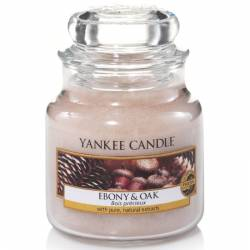 Yankee Candle Jar Glaskerze klein 104g Ebony & Oak
