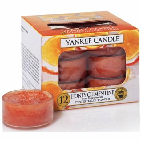 Yankee Candle Teelichter 12er Pack Honey Clementine