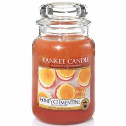 Yankee Candle Jar Glaskerze groß 623g Honey Clementine