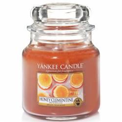 Yankee Candle Jar Glaskerze mittel 411g Honey Clementine