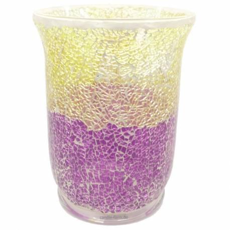 Yankee Candle Purple & Gold Jarhalter