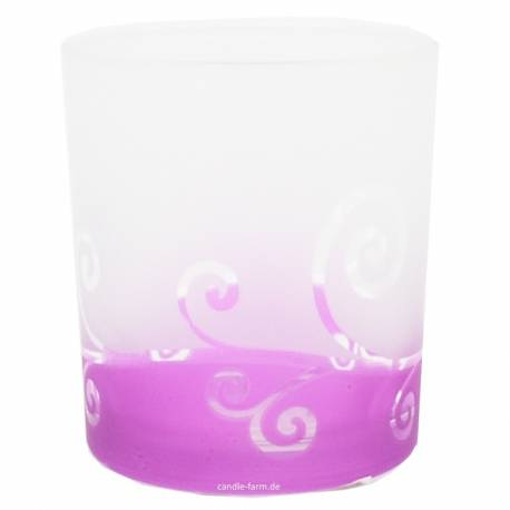 Yankee Candle Purple Scroll Votivhalter für Sampler
