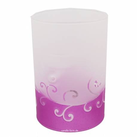 Yankee Candle Purple Scroll Multi-Teelichthalter