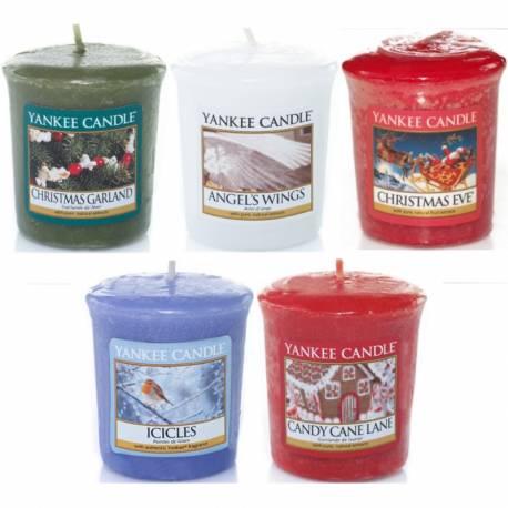 Yankee Candle Spar-Set Weihnachten Sampler / Votive 5er