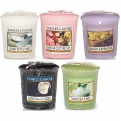 Yankee Candle Spar-Set Sampler / Votive 5er