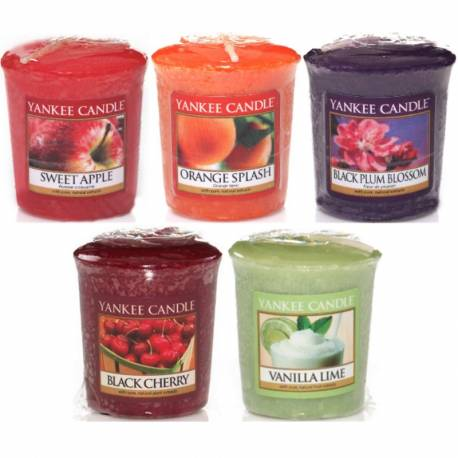 Yankee Candle Spar-Set Sampler / Votive 5er Fruit-a-licious