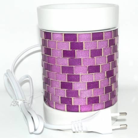 Yankee Candle Glitter Glow violett Duftlampe elektrisch