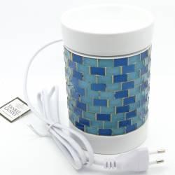 Yankee Candle Glitter Glow blau Duftlampe elektrisch