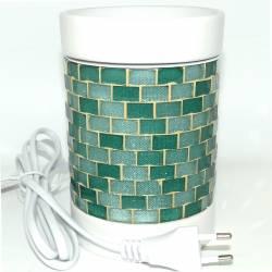 Yankee Candle Glitter Glow grün Duftlampe elektrisch