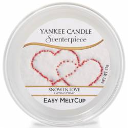 Yankee Candle Easy MeltCup Snow in Love