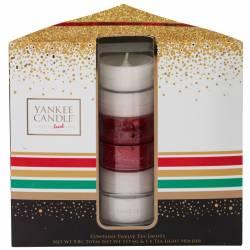 Yankee Candle Geschenk-Set Weihnachten Teelichter mit Halter