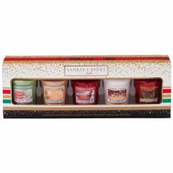 Yankee Candle Geschenk-Set Weihnachten Sampler / Votive 5er