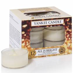 Yankee Candle Teelichter 12er Pack All is Bright