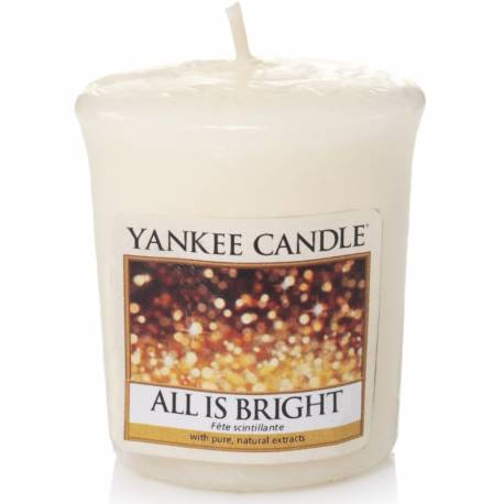 Yankee Candle Sampler Votivkerze All is Bright