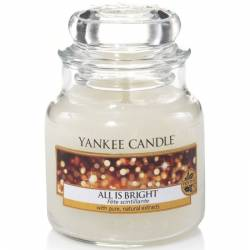 Yankee Candle Jar Glaskerze klein 104g All is Bright
