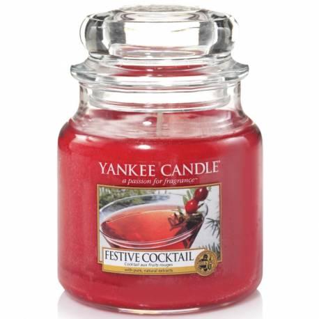Yankee Candle Jar Glaskerze mittel 411g Festive Cocktail