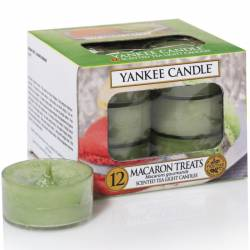 Yankee Candle Teelichter 12er Pack Macaron Treats