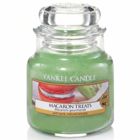 Yankee Candle Jar Glaskerze klein 104g Macaron Treats