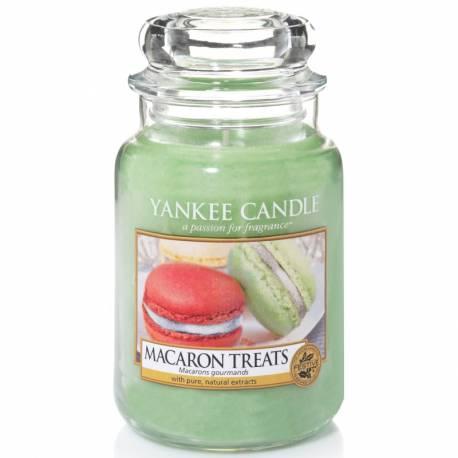 Yankee Candle Jar Glaskerze groß 623g Macaron Treats