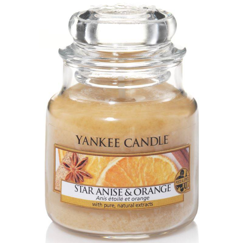 yankee candle housewarmer classic jar klein 104g star anise orange. Black Bedroom Furniture Sets. Home Design Ideas