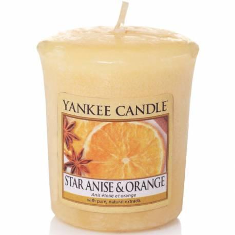 Yankee Candle Sampler Votivkerze Star Anise & Orange