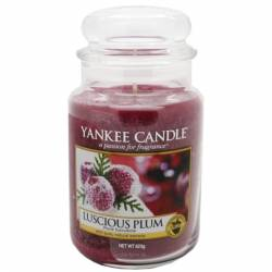 Yankee Candle Jar Glaskerze groß 623g Luscious Plum