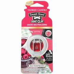 Yankee Candle Smart Scent Vent Clip Autoduft Red Raspberry