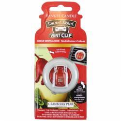 Yankee Candle Smart Scent Vent Clip Autoduft Cranberry Pear