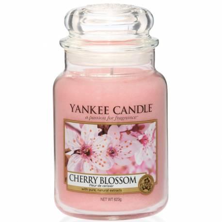 Yankee Candle Jar Glaskerze groß 623g Cherry Blossom