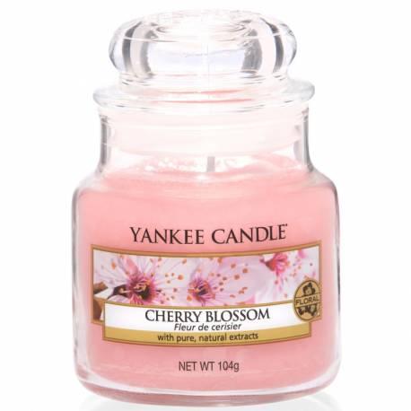 Yankee Candle Jar Glaskerze klein 104g Cherry Blossom