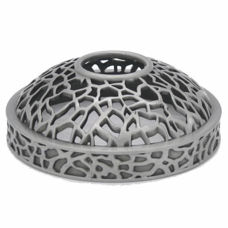 Yankee Candle Matrix brushed silver Illuma-Lid