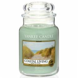 Yankee Candle Jar Glaskerze groß 623g Coastal Living