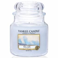 Yankee Candle Jar Glaskerze mittel 411g Sea Air