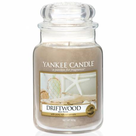 Yankee Candle Jar Glaskerze groß 623g Driftwood