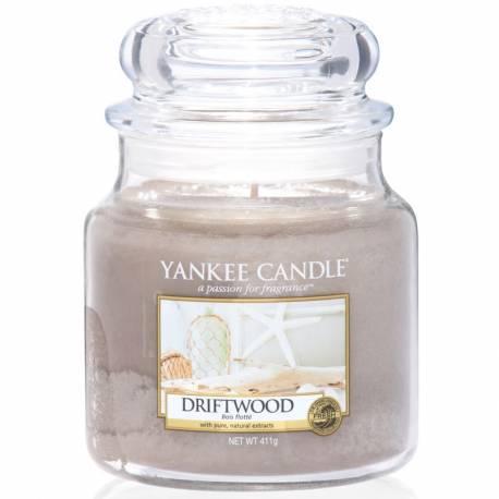 Yankee Candle Jar Glaskerze mittel 411g Driftwood