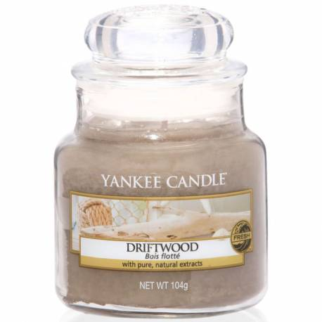 Yankee Candle Jar Glaskerze klein 104g Driftwood