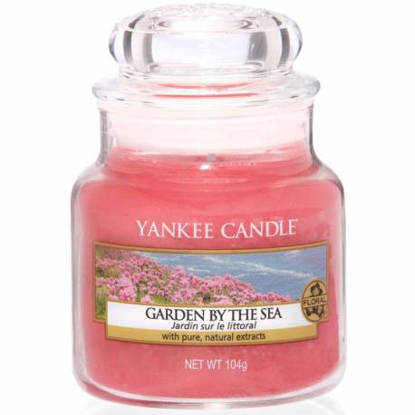 Yankee Candle Jar Glaskerze klein 104g Garden by the Sea