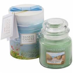 Yankee Candle Geschenk-Set Jar 411g Coastal Living