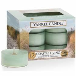 Yankee Candle Teelichter 12er Pack Coastal Living