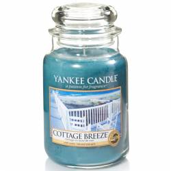 Yankee Candle Jar Glaskerze groß 623g Cottage Breeze