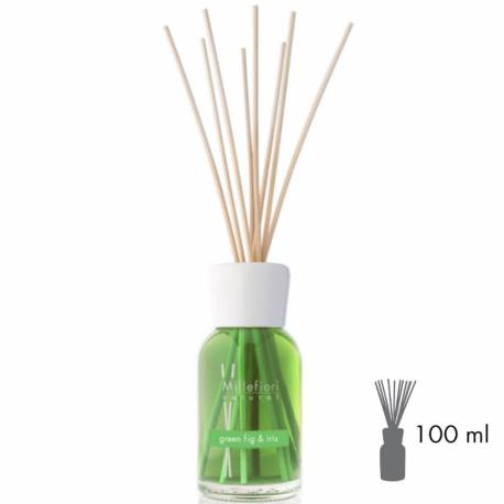 Green Fig & Iris Millefiori Natural Stick Diffusor 100 ml