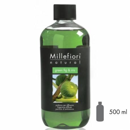Green Fig & Iris Millefiori Natural Refill 500 ml