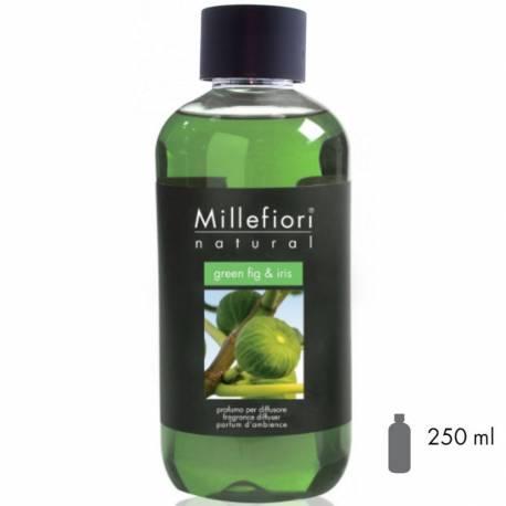 Green Fig & Iris Millefiori Natural Refill 250 ml