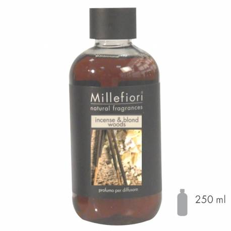 Incense & Blond Woods Millefiori Natural Refill 250 ml