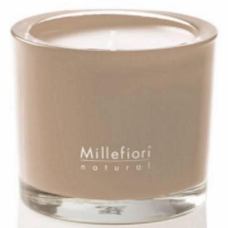 Incense & Blond Woods Millefiori Natural Glas Kerzen 180 g