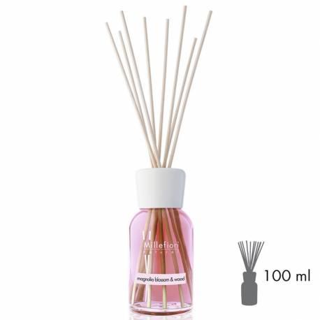 Magnolia Blossom & Wood Millefiori Natural Stick Diffusor 100 ml