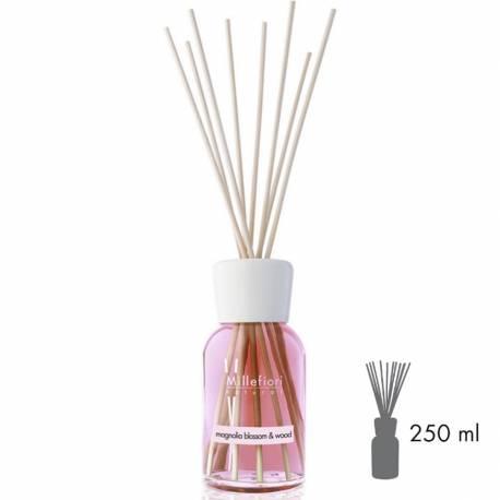 Magnolia Blossom & Wood Millefiori Natural Stick Diffusor 250 ml