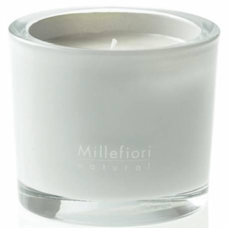 White Musk Millefiori Natural Glas Kerzen 180 g