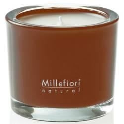 Vanilla & Wood Millefiori Natural Glas Kerzen 180 g