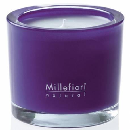 Melody Flowers Millefiori Natural Glas Kerzen 180 g